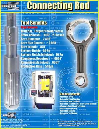 accu-cut diamond turbo connecting rod brochure