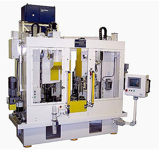 accu-cut diamond tool honing bore sizing 6 spindle machine automatic tool compensation