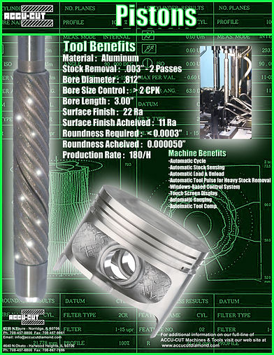 accu-cut diamond piston brochure