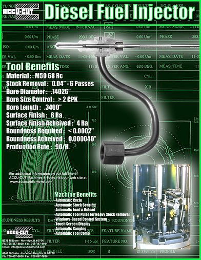 accu-cut diamond diesel fuel injector brochure