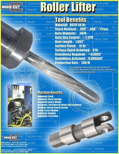 accu-cut diamond turbo roller lifter brochure