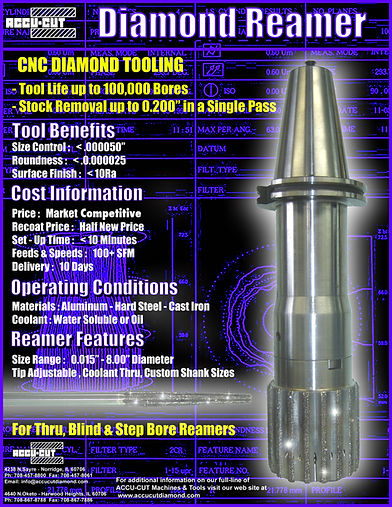 accu-cut diamond reamer brochure