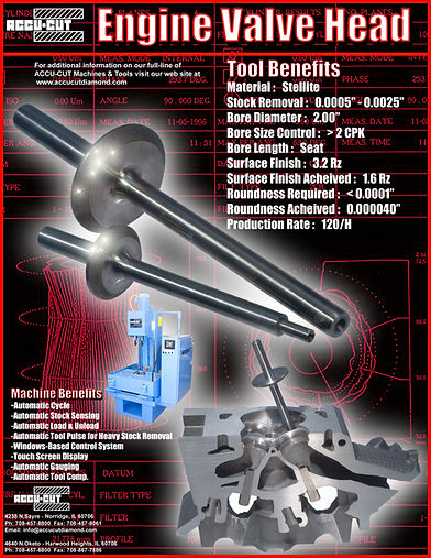 accu-cut diamond engine valve head brochure
