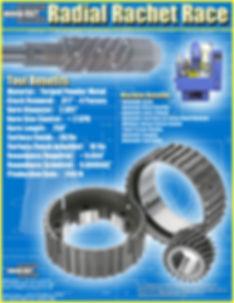 accu-cut diamond radial rachet race brochure