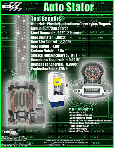 accu-cut diamond auto stator brochure