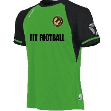 Fit football kit top (green)