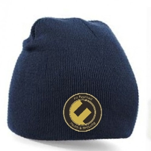 Fit football beanie (Navy blue)