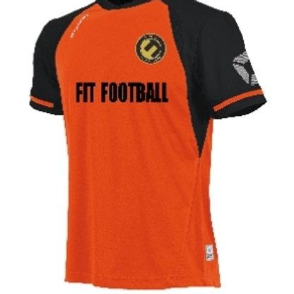 Fit football kit top (Orange)