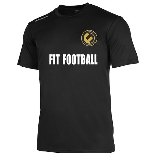Fit Football Black training top
