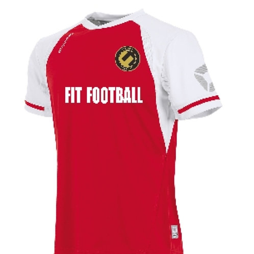Fit football kit top (Red)