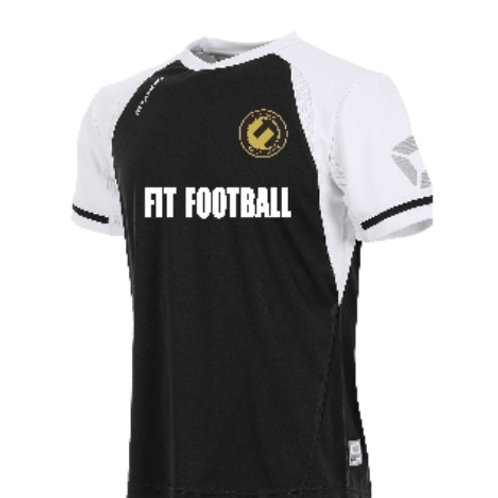 Fit football kit (black/white sleeves)