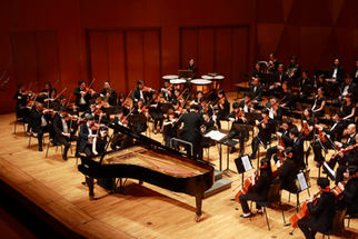 Concerto performance in Hong kong