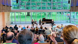 Performance at the Tanglewood Music Center