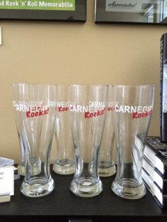 Carnegie Rocks Pilsner Glass