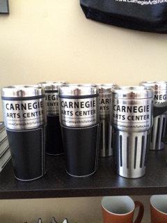 Carnegie Arts Center Travel Mug