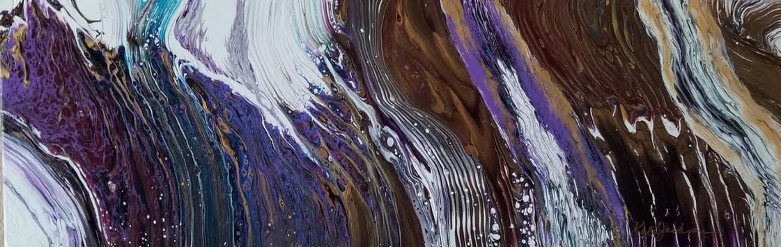 Ridges of Joy fluid acrylic $535