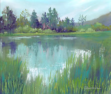 Ginny Burdick, Reflections in the Pond.j
