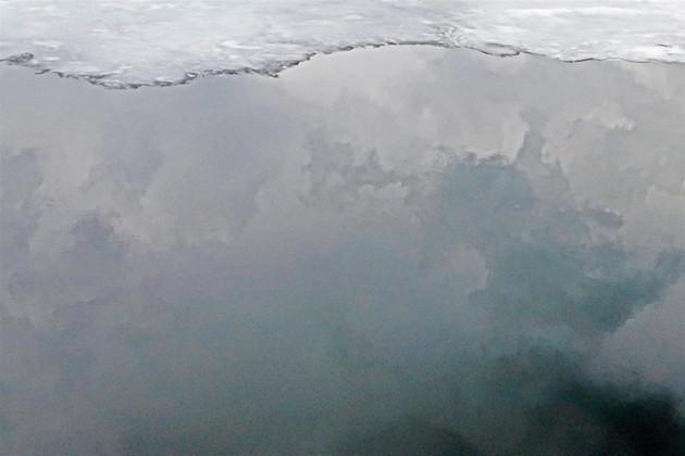 "William Calvin (Modesto) The Edge of Ice and Sky, 2019 Photograph 20"" x 16"" $150"