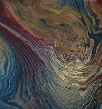 Inner Sanctum fluid acrylic $500