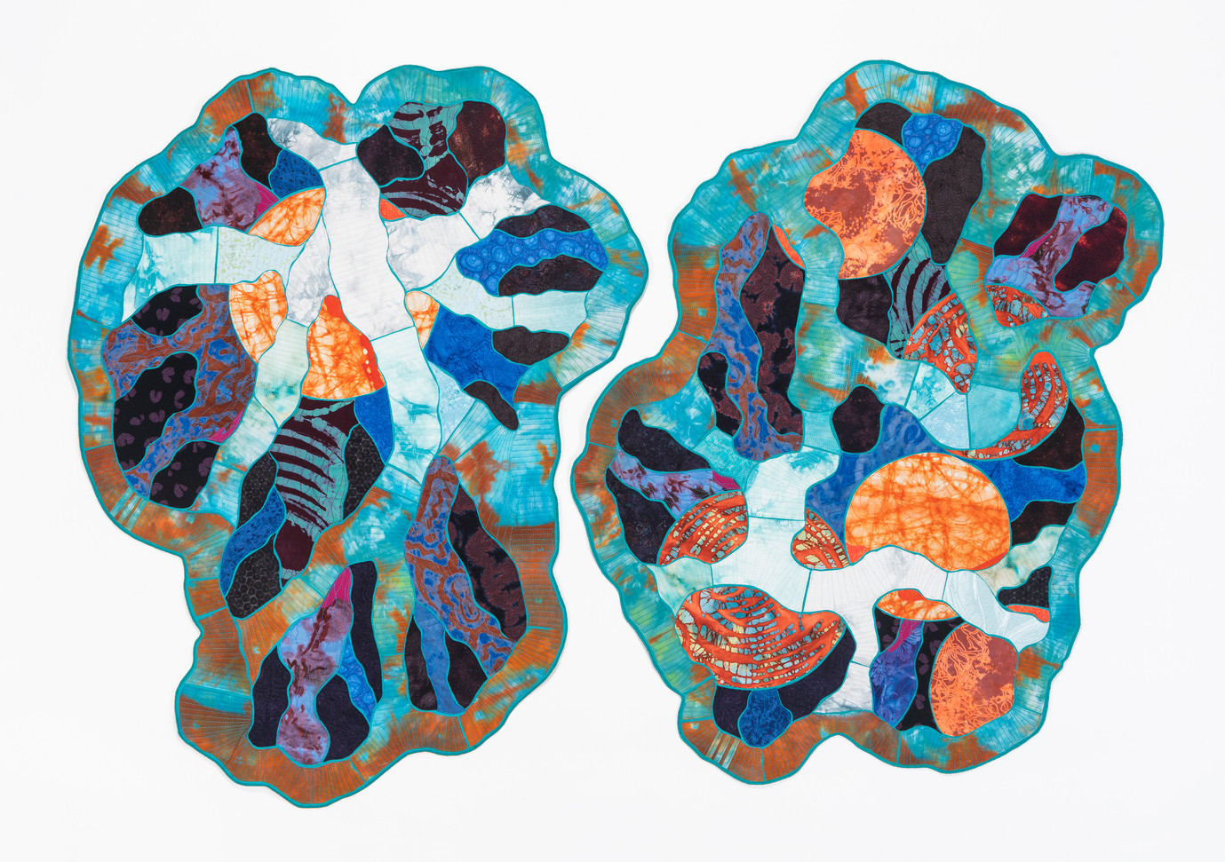 Containment (diptych) textiles $2,890