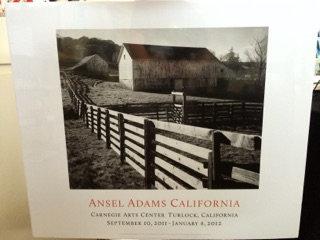 Ansel Adams Exhibition Poster