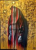 Jelbert Karamisangar, Untitled, mixed me