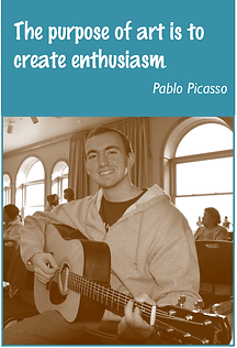 The purpose of art is to create enthusiasm. Pablo Picasso