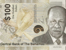 Bahamas: Neue 100-Dollars-Noten