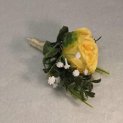 Keltainen ruusuviehe