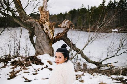 Marina Dias - Winter Potrait
