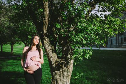 Thanani & Family - Pregnant Photoshoot MA