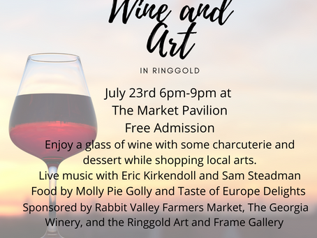 Wine and Art in Ringgold