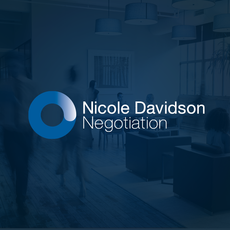 Nicole Davidson Negotiation New Brand Logo