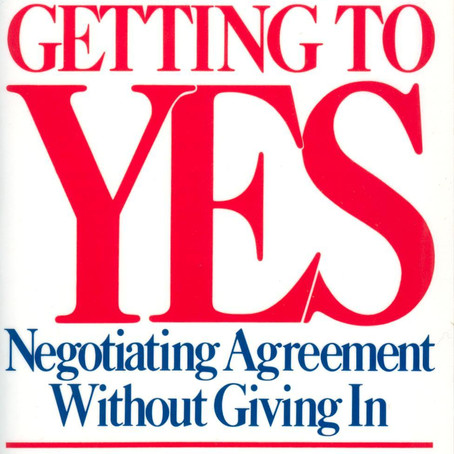 A to Z of Negotiation - G is for Getting to Yes