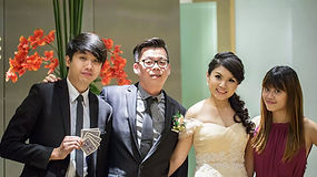 wedding emcee singapore