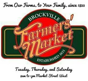 Visit The Brockville Farmers' Market Celebrating 184 Years