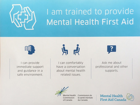 Help Stop the Stigma & Take Steps to get Trained
