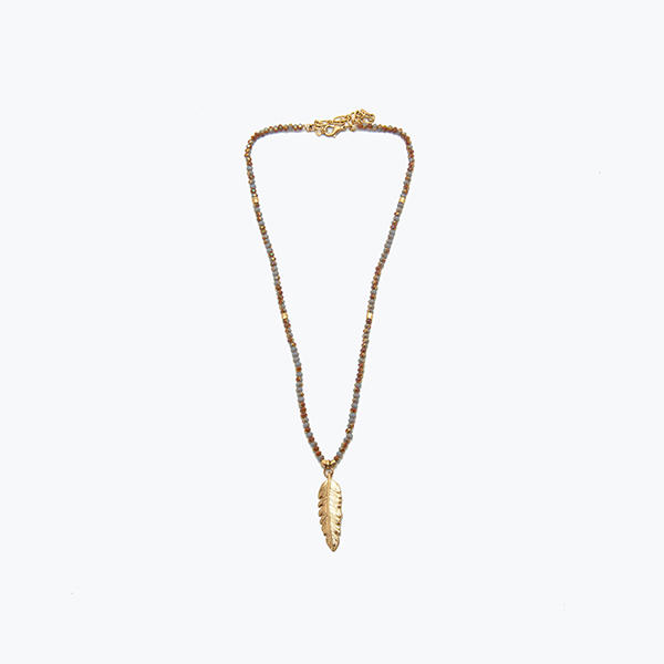 Item #2031 Rondelle Beads & Feather.jpg