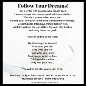 Follow Your Dreams!