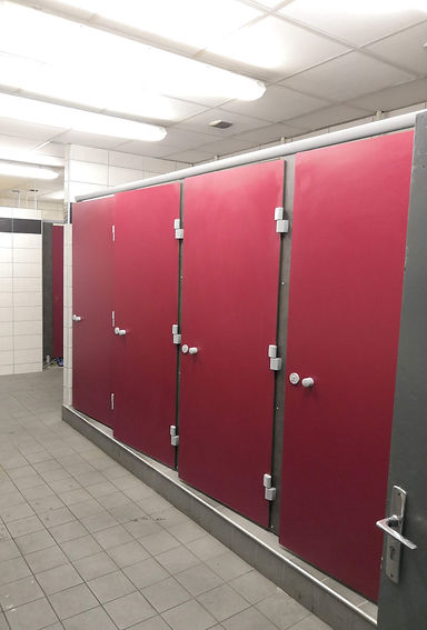 pose cabines sanitaire sur mesure
