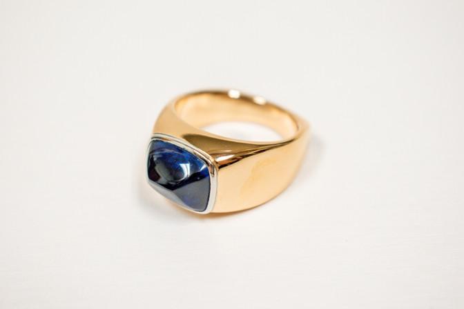 Sapphire Gent's Ring