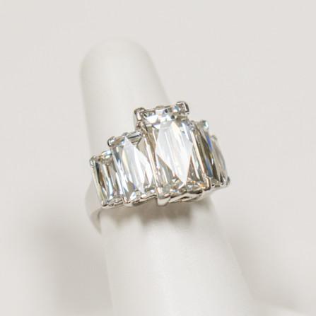 Custom Tycoon Diamond Ring
