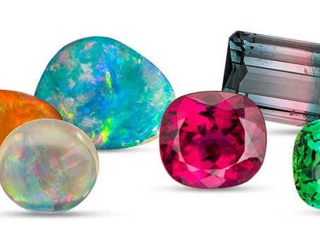 Opal and Tourmaline: October's Birthstones