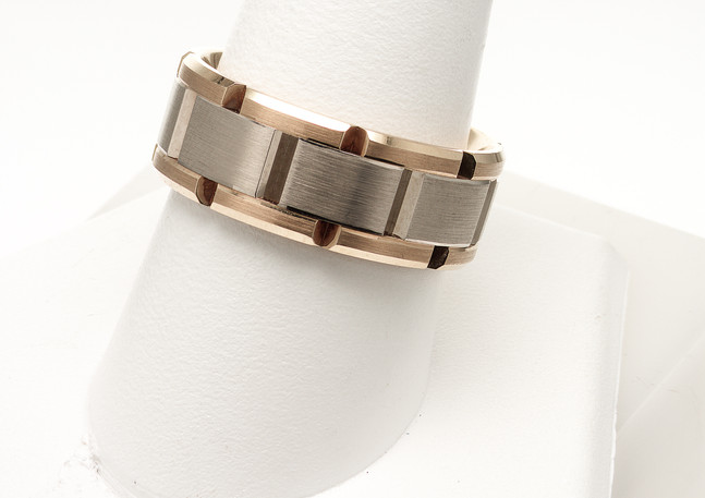 Two-Tone Gent's Ring