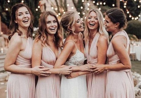 Unique Bridesmaids Gifts Based on Your Wedding Theme