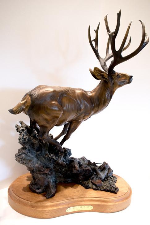 """""""Buck in the Wind"""" by Dennis Jones"""