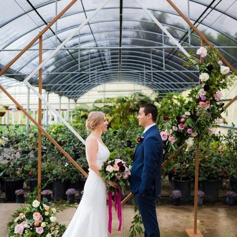 The Greenhouse at Plantender's Nursery   Styled Shoot