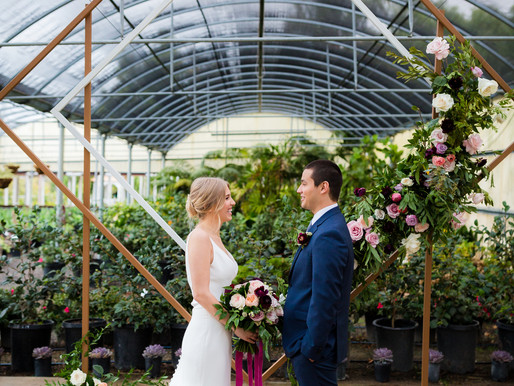 The Greenhouse at Plantender's Nursery | Styled Shoot