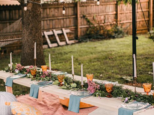 5 Reasons To Choose A Backyard Wedding