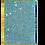 Thumbnail: 'Aqua Glam' 60x90 / 24K gold-plated frame